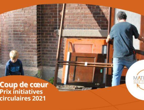 Le projet Matériaux Sans Frontières : grand gagnant des Prix initiatives circulaires 2021