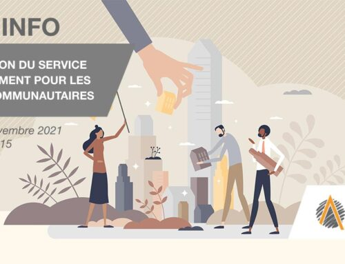 WEB-INFO : Présentation du service d'aménagement pour projets communautaires d'ASFQ – 1 novembre
