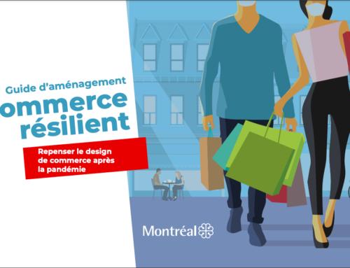 Lancement du Guide d'aménagement pour commerce résilient de la Ville de Montréal et fin du projet COVIDesign